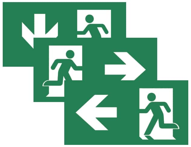 Emergency Lighting Installation Sign